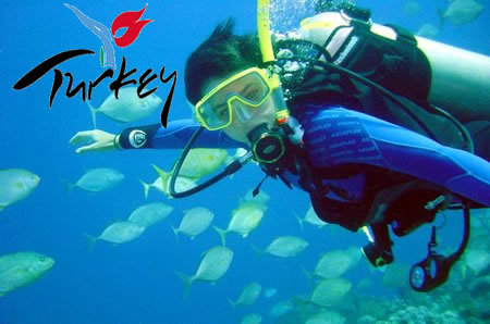 Diving in Turkey
