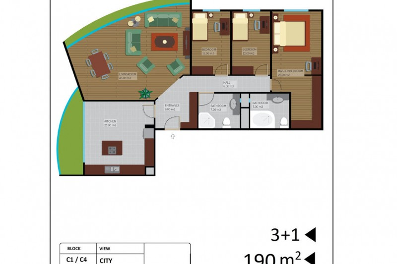 Appartment Istanbul a Vendre (11)
