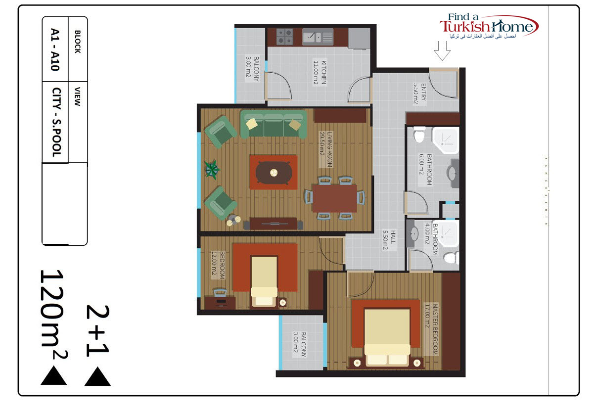 Appartment Istanbul a Vendre (7)